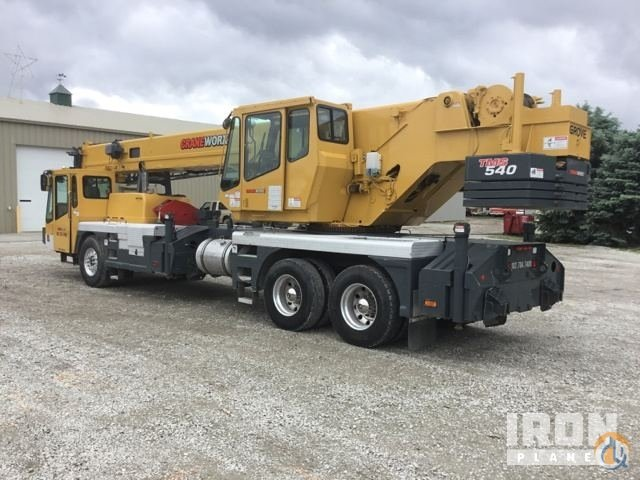 Sold 2000 Grove TMS540 Hydraulic Truck Crane Crane for  in Fremont Nebraska on CraneNetwork.com