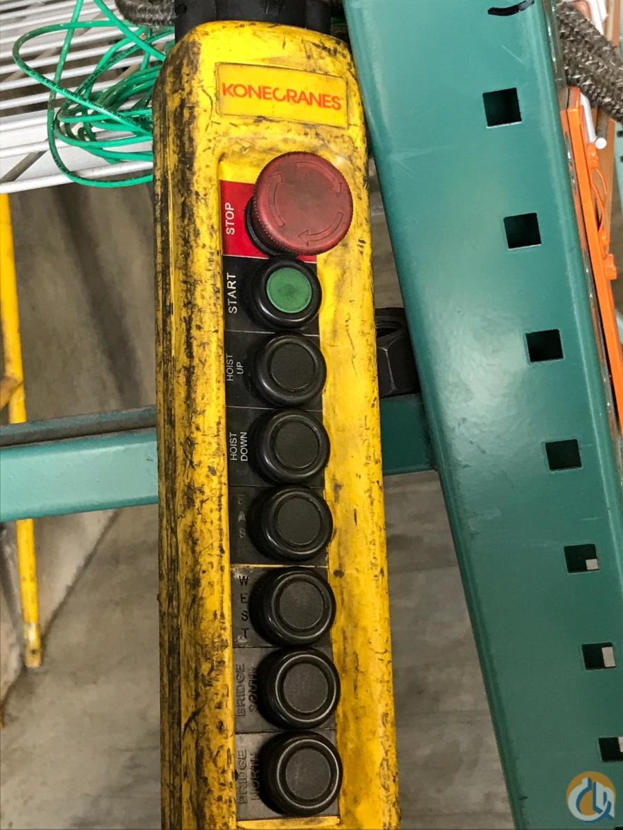2009 Kone Overhead Industrial Crane Crane for Sale in South Jordan Utah on CraneNetworkcom