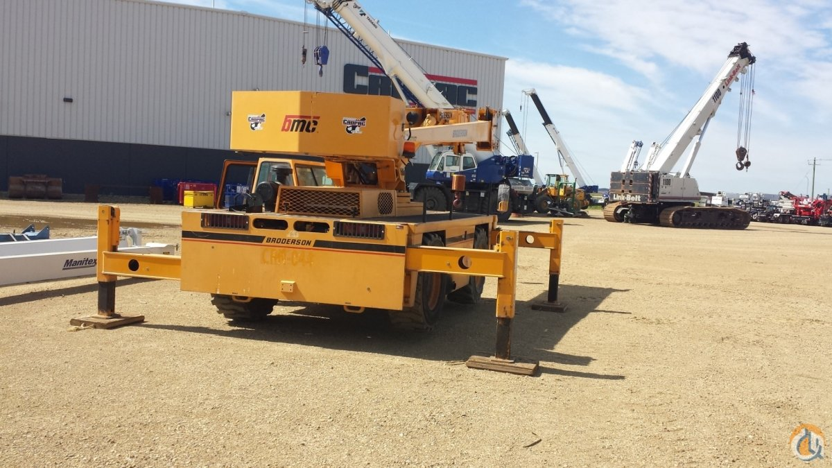 2011 BRODERSON IC-250-3C Crane for Sale or Rent in Oakville Ontario on CraneNetwork.com