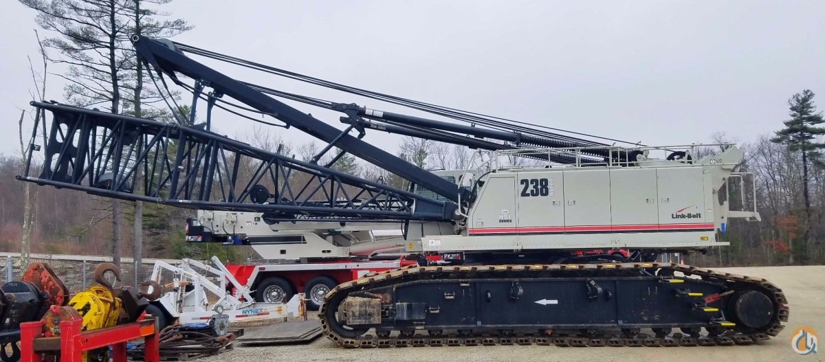 2012 Link-Belt 238HSL Crane for Sale in Oxford Massachusetts on CraneNetwork.com