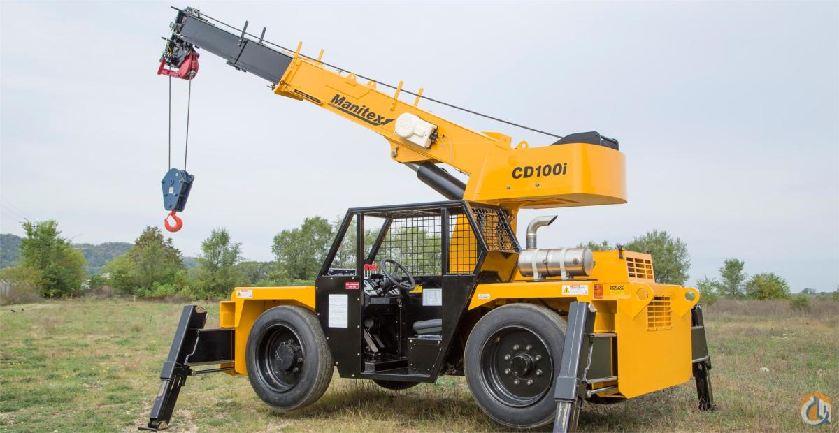 Manitex CD100I Carry Deck Industrial Cranes Crane for Sale 2015 MANITEX CD100I in Bridgeview  Illinois  United States 219014 CraneNetwork