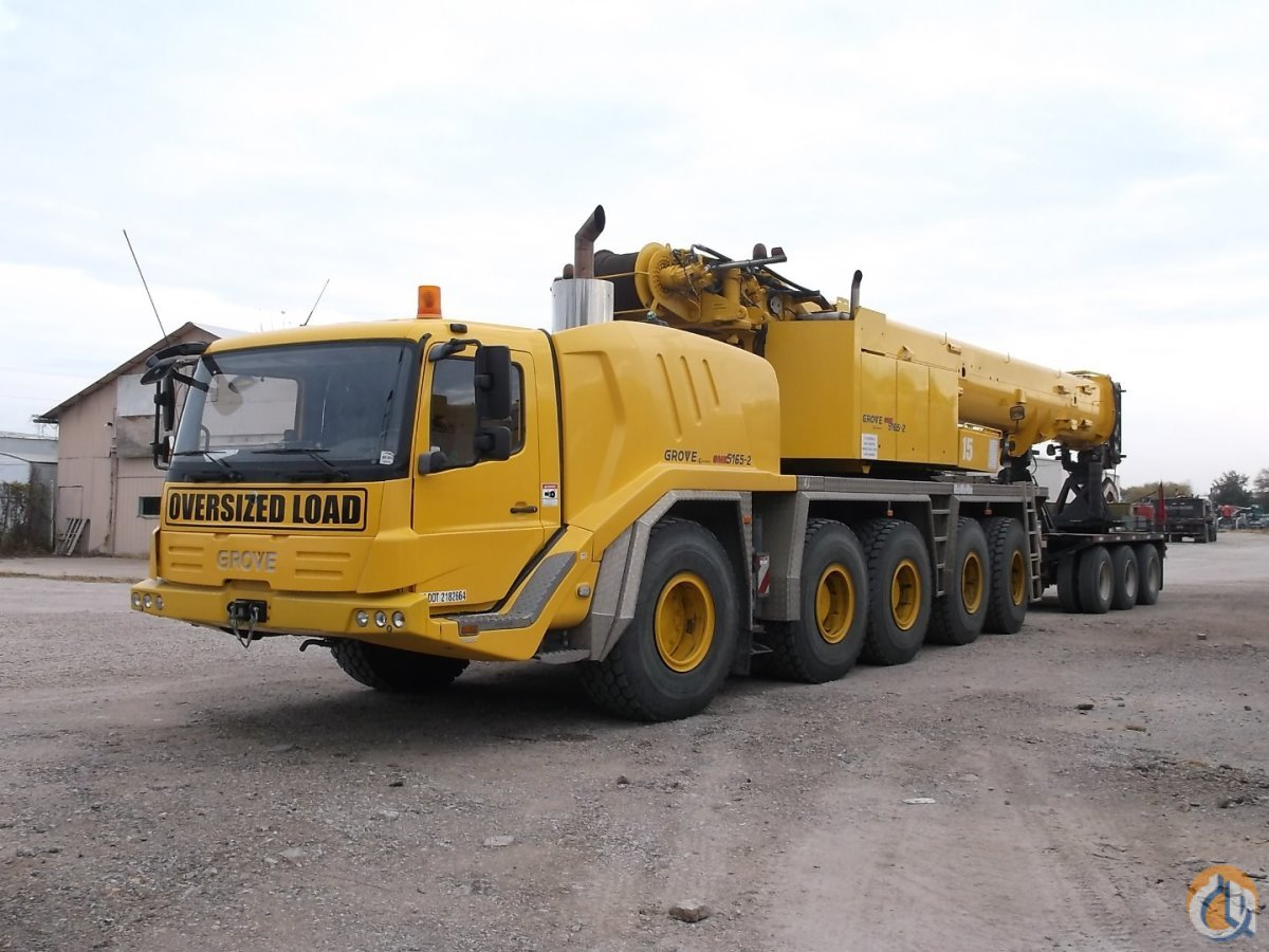 Sold 2011 Grove Gmk 5165 Crane For In Dallas Texas On