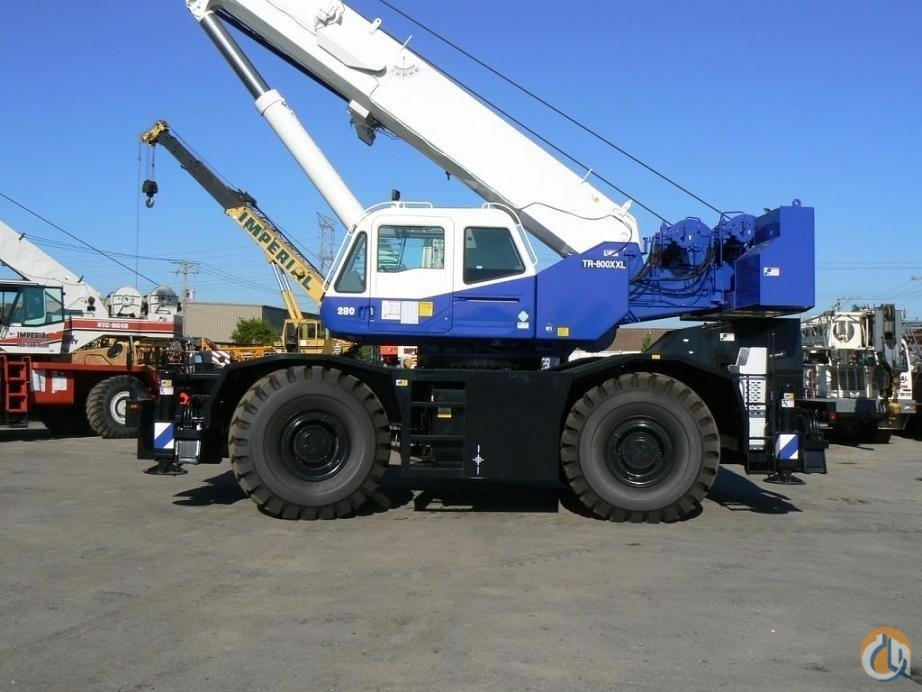 2007 TADANO GR800XL-1 Crane for Sale in Bridgeview Illinois on CraneNetwork.com