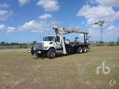 Sold 2011 INTERNATIONAL 7500 wNational 690E2 Crane for  in Orlando Florida on CraneNetworkcom