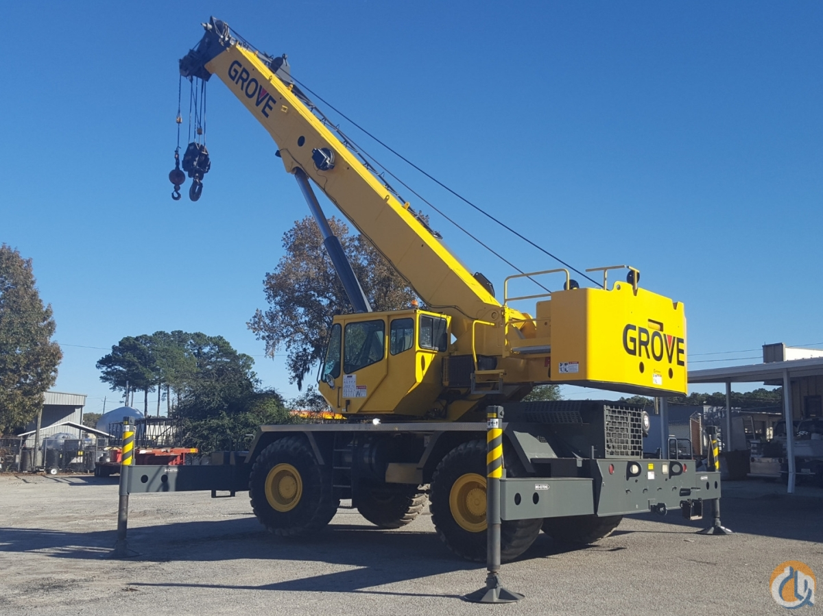 2011 GROVE RT-650E Crane for Sale or Rent in Perry Florida on CraneNetwork.com