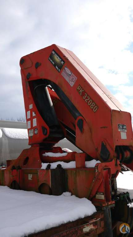 Sold 1998 PALFINGER PK32080 8752 Crane for  in Hatfield Pennsylvania on CraneNetwork.com