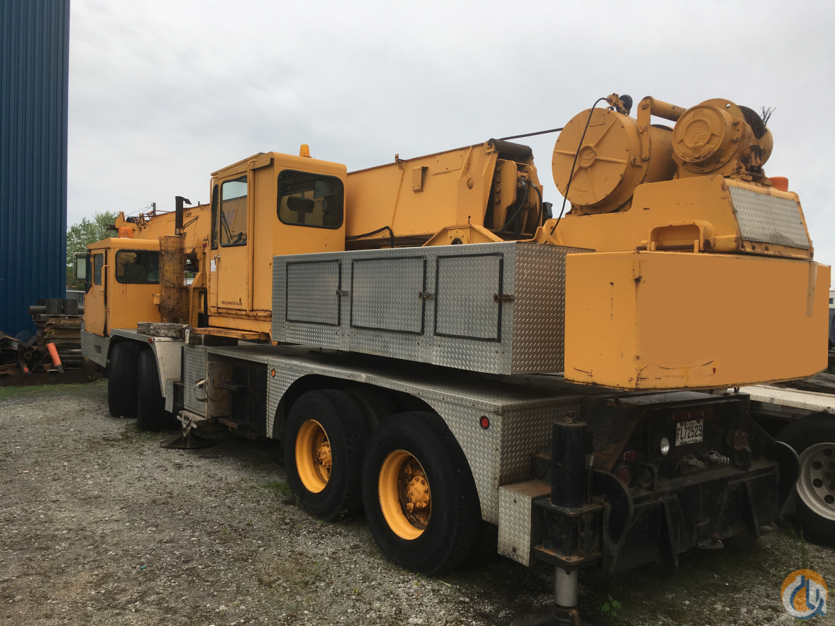 1980 Grove TMS300 35 Ton Hydraulic Truck Crane CranesList ID 336 Crane for Sale in Montreal Quebec on CraneNetwork.com