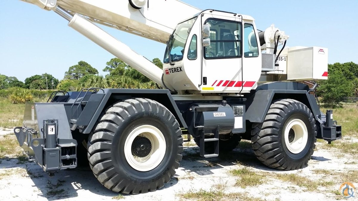 2008 TEREX RT555-1 55T 169500 Excellent in FLORIDA 2-AVAILABLE Crane for Sale in Fort Pierce Florida on CraneNetwork.com