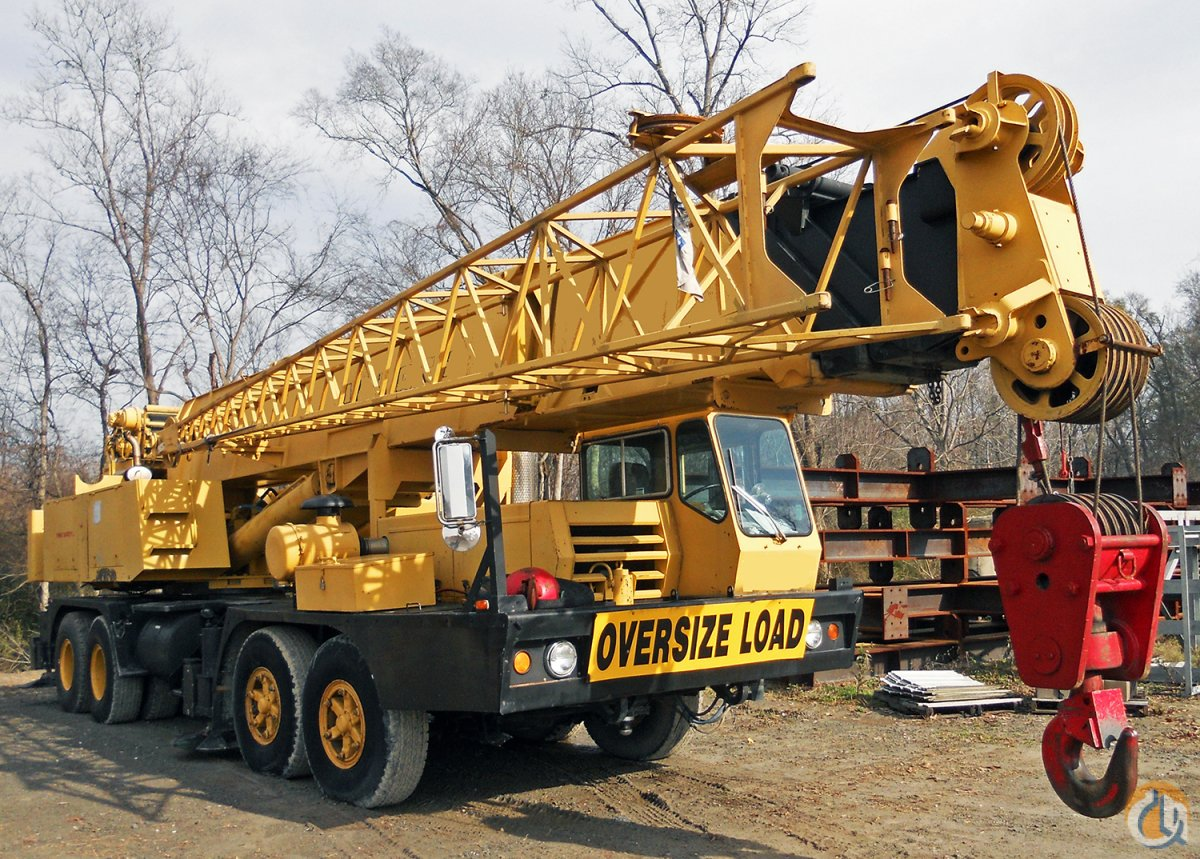 Sold 80 Ton Grove Tm875 Hydraulic Truck Crane Crane For On