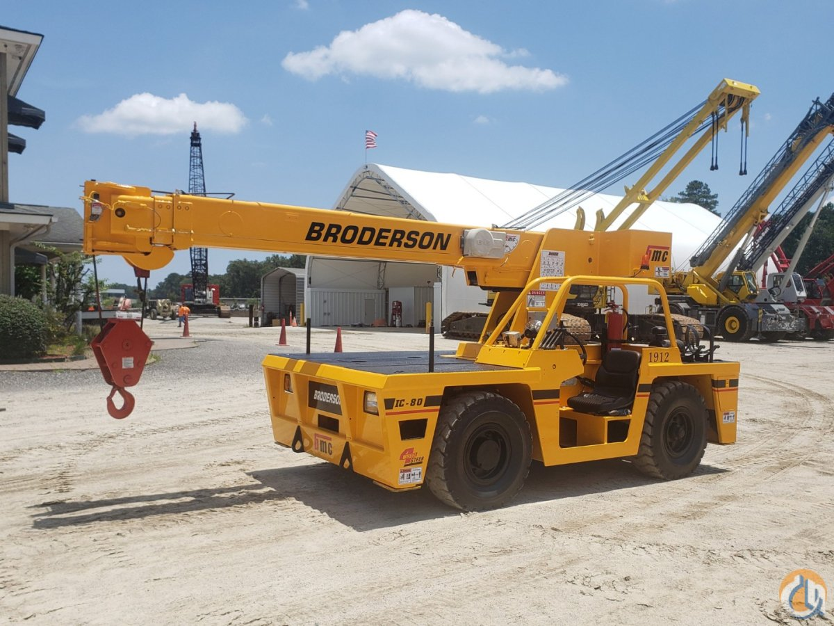 2010 BRODERSON IC-80-3G Crane for Sale or Rent in Atlanta Georgia on CraneNetwork.com