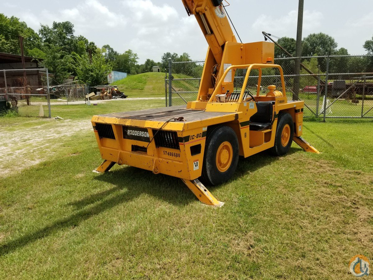 2007 Broderson IC 80-3G Crane for Sale in Orange Texas on CraneNetwork.com