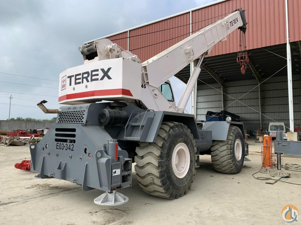 2008 TEREX RT665 ROUGH TERRAIN CRANE Crane for Sale in ... on