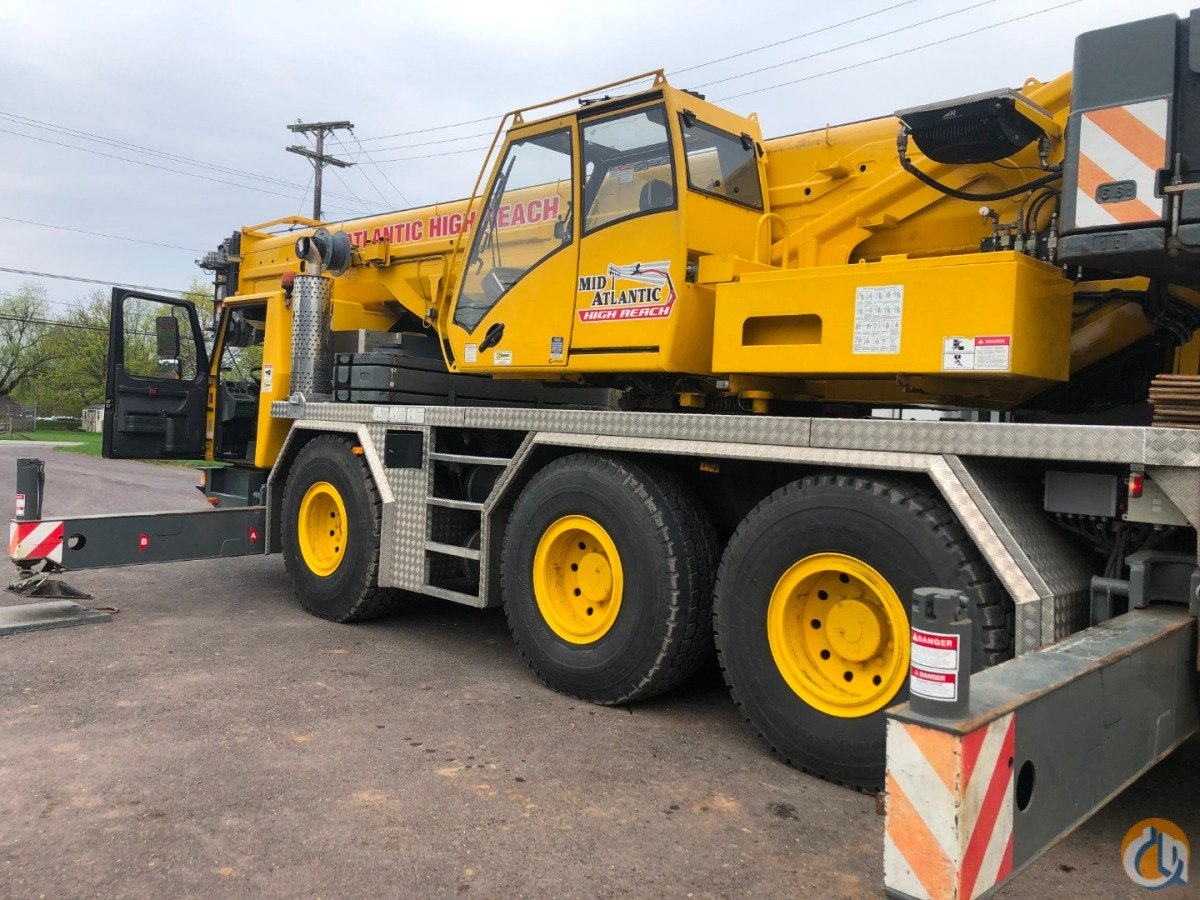 2009 GROVE GMK3055 Crane for Sale in Quakertown Pennsylvania on CraneNetwork.com