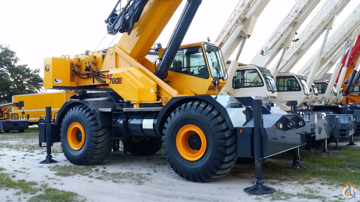 2008 GROVE RT760E Crane for Sale or Rent in Fort Pierce Florida on CraneNetworkcom