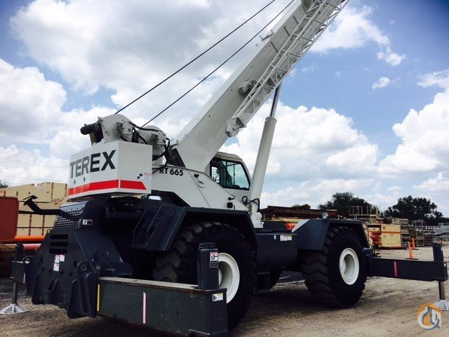 Sold 2008 TEREX RT665 Crane for  in Houston Texas on CraneNetwork.com