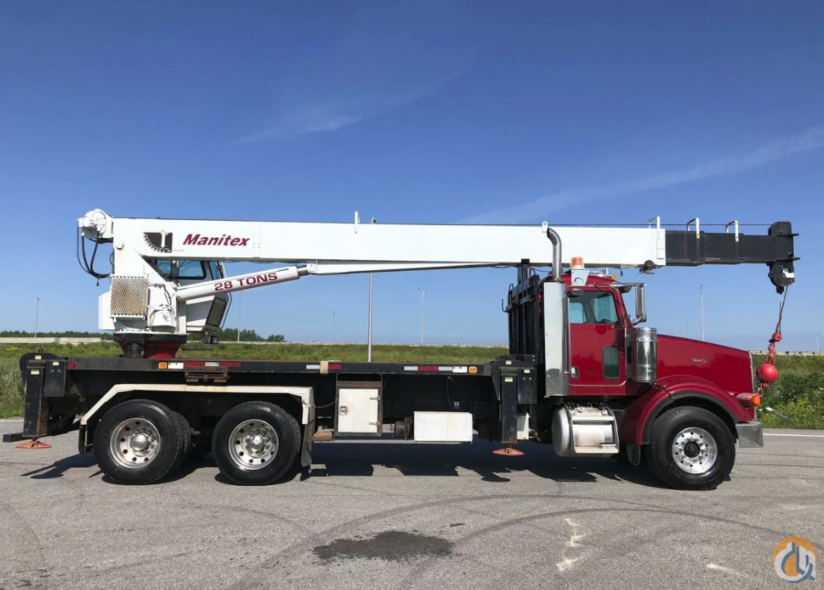 Sold 2005 MANITEX 2892S MOUNTED A PETERBILT Crane for  in Montreal Quebec on CraneNetwork.com