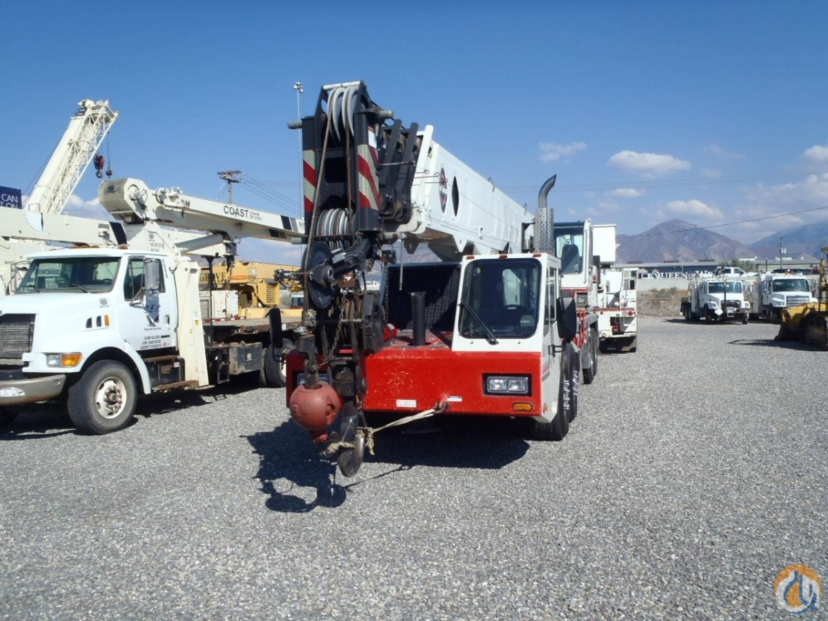 2007 Link-Belt HTC-8675 Crane for Sale in Salt Lake City Utah on CraneNetworkcom