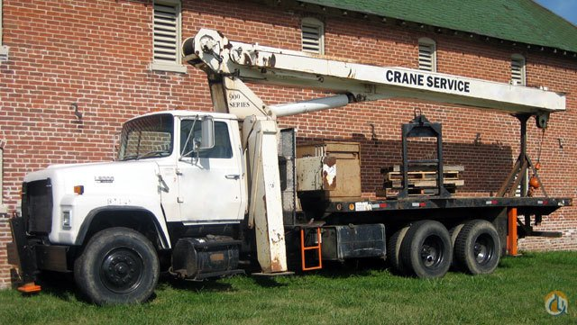 Sold National 900 Boom Truck Cranes Crane for   in  Florida  United States 159012 CraneNetwork