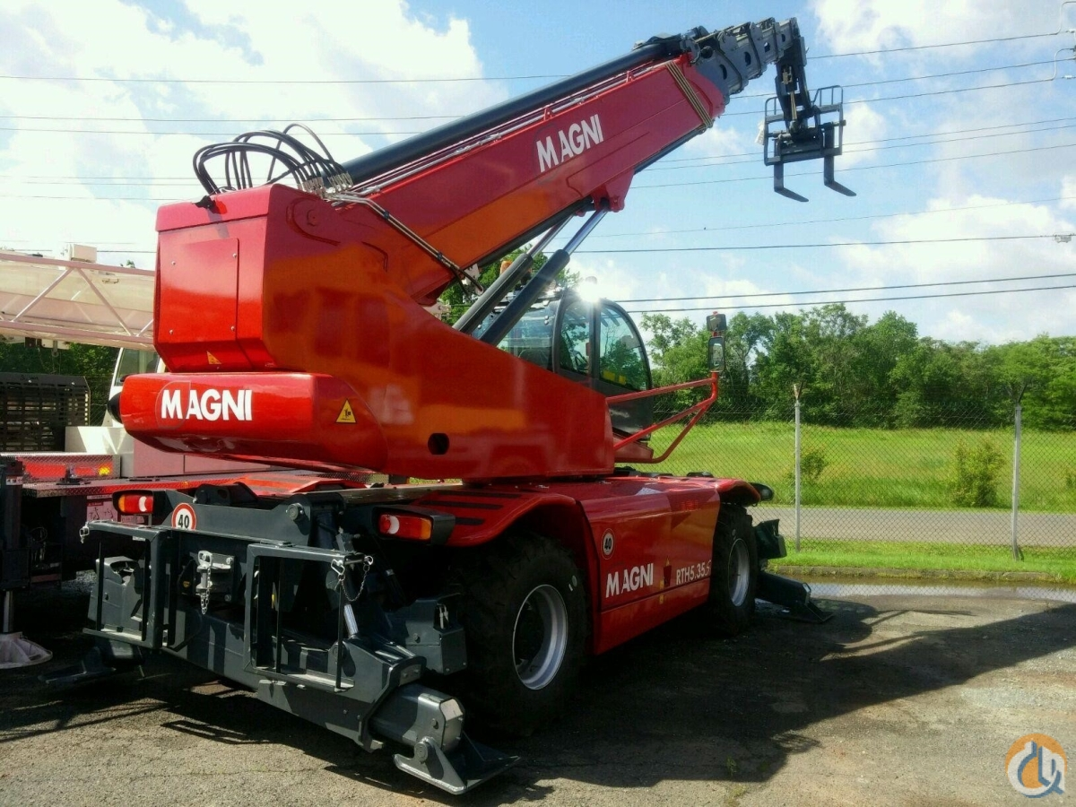 2016 MAGNI RTH5.35S Crane for Sale or Rent in North Syracuse New York on CraneNetwork.com