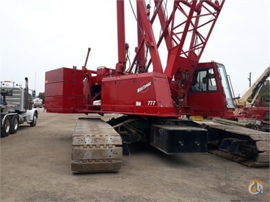 1999 Manitowoc 777 S2 Crane for Sale in Clearwater Florida on CraneNetwork.com
