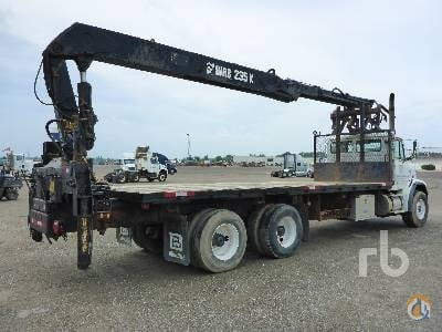 2002 FREIGHTLINER FL112 Crane for Sale in Caledon Ontario on CraneNetwork.com
