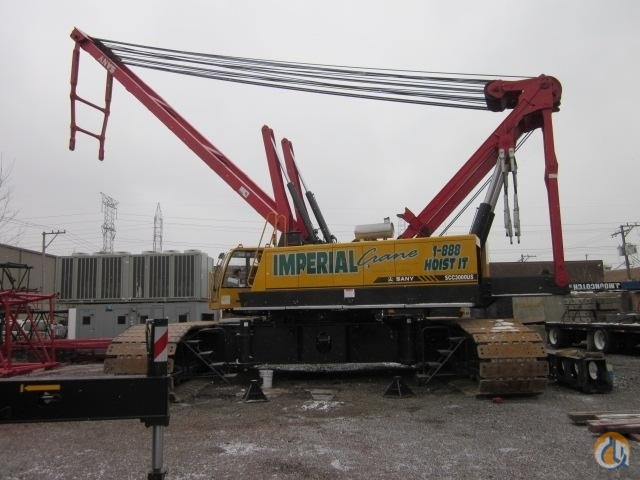 2009 SANY SCC3000 Crane for Sale in Bridgeview Illinois on CraneNetwork.com
