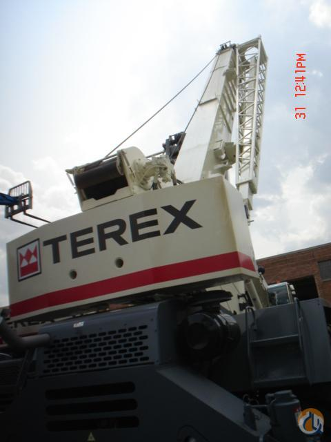 Terex RT665 Rough Terrain Cranes Crane for Sale 2008 TEREX RT665 in Bridgeview  Illinois  United States 218988 CraneNetwork