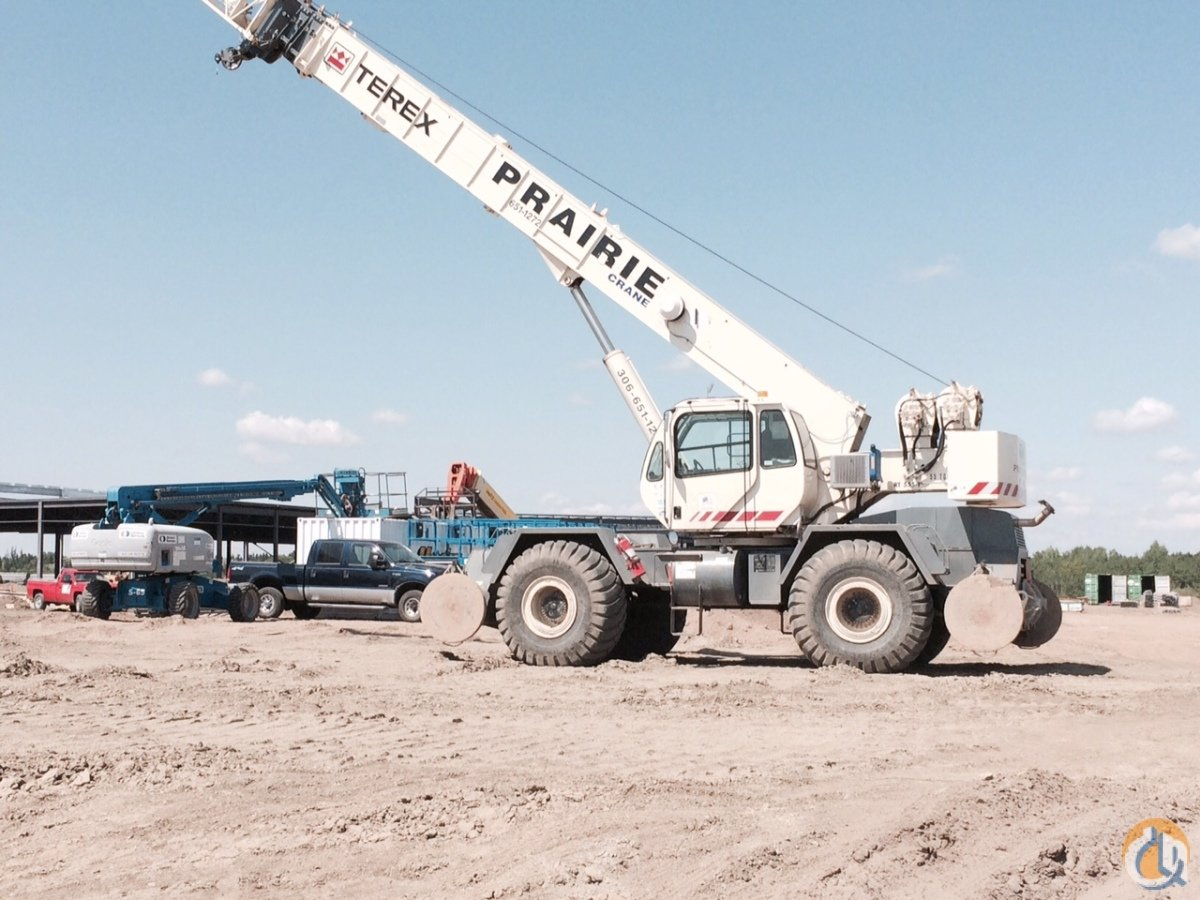 2008 TEREX RT555 Crane for Sale in Saskatoon Saskatchewan on CraneNetworkcom