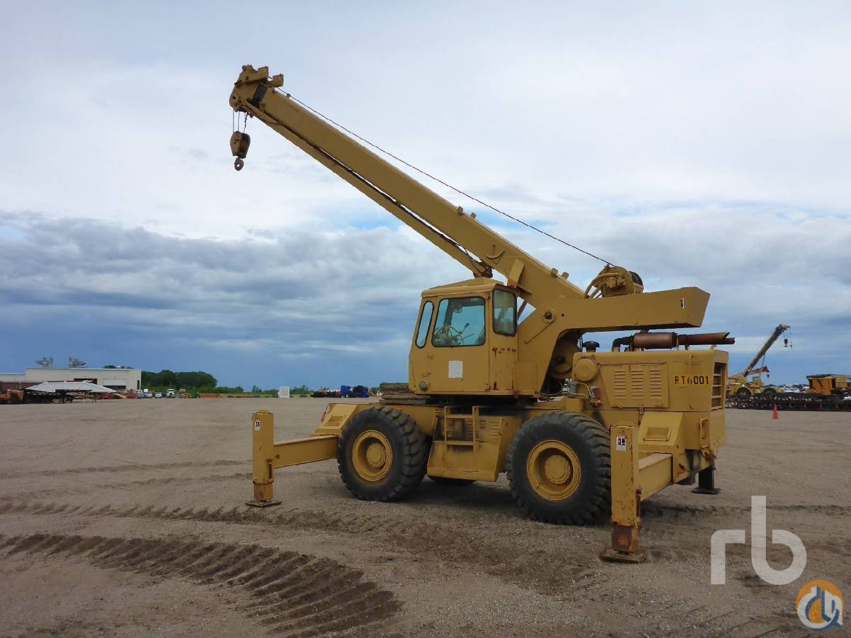 1975 GROVE RT-60S 18 Ton Rough Terrain Crane Crane for Sale in Minneapolis Minnesota on CraneNetworkcom