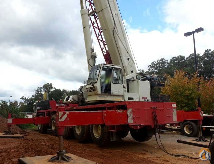 Grove GMK5200 For Sale Crane for Sale on CraneNetworkcom