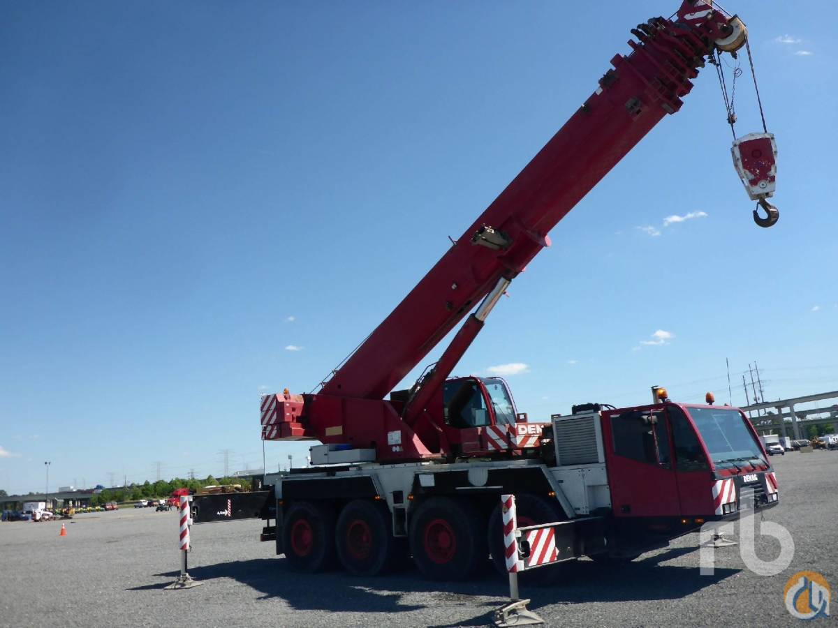 Sold 2002 DEMAG AC80-2 All Terrain Crane Crane for  in Houston Texas on CraneNetworkcom