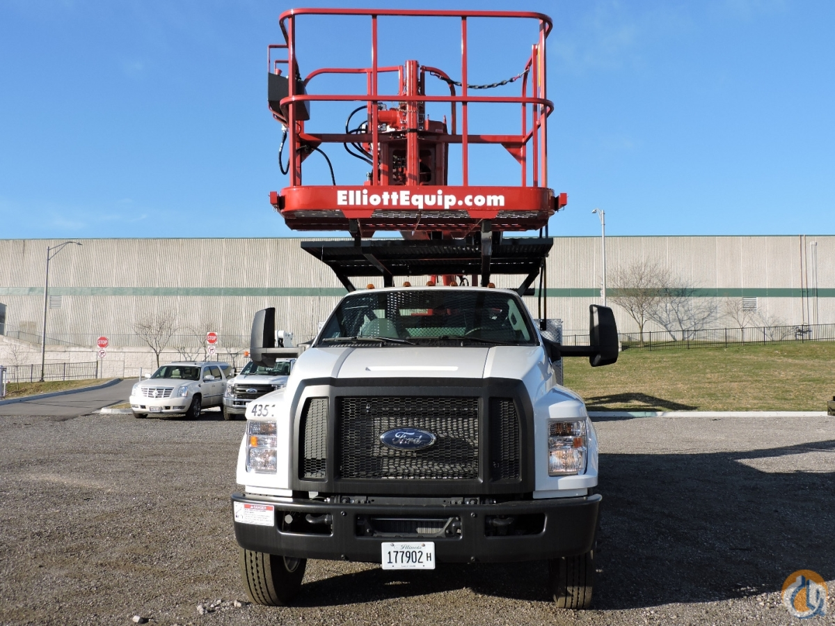 L60R on 2018 Ford F750  diesel engine Crane for Sale in Hodgkins Illinois on CraneNetwork.com