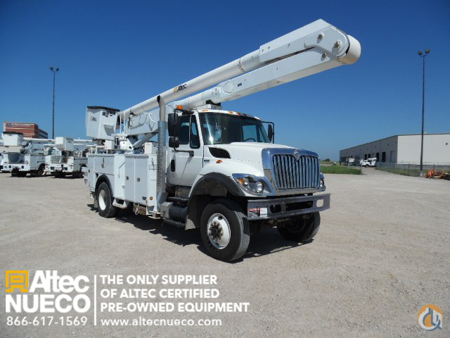 2009 ALTEC AA755-P Crane for Sale in Waxahachie Texas on CraneNetworkcom
