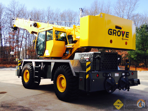 2013 Grove RT650E Crane for Sale in Easton Massachusetts on CraneNetworkcom