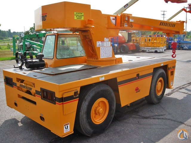 BRODERSON IC-80-3F FOR SALE Crane for Sale in Detroit Michigan on CraneNetwork.com