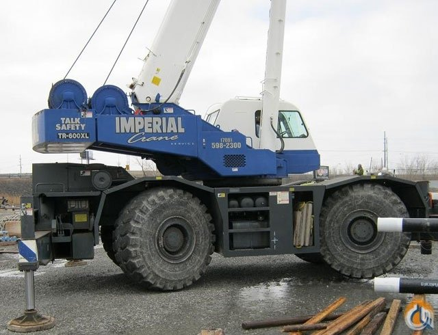 Tadano TR-600XXL-4 Crane for Sale or Rent in Chicago Illinois on CraneNetwork.com
