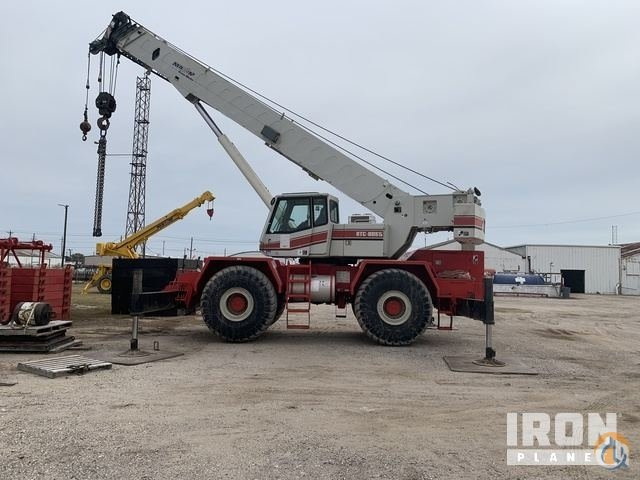 Sold 1999 unverified Link-Belt RTC8065 Rough Terrain Crane Crane for  in Texas City Texas on CraneNetwork.com