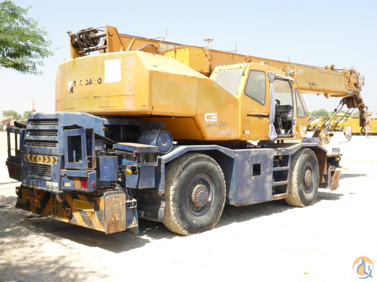 Sold 1996 TADANO TR250M-6 Crane for  in Arar Northern Borders Province on CraneNetworkcom