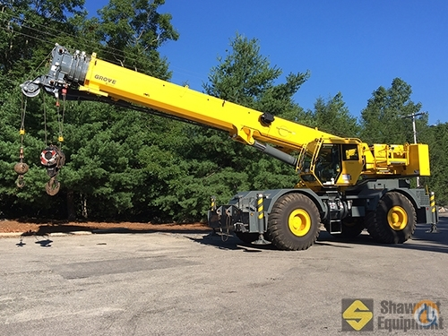 2013 Grove RT765E-2 Crane for Sale in Manchester Connecticut on CraneNetwork.com