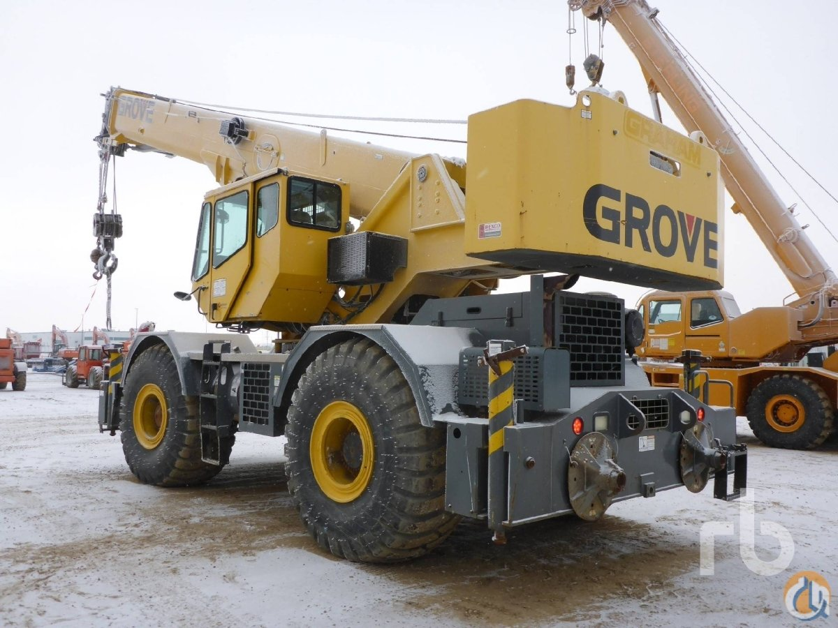 Sold 2007 GROVE RT700E 60 Ton 4x4x4 Rough Terrain Crane Crane for  in Edmonton Alberta on CraneNetwork.com