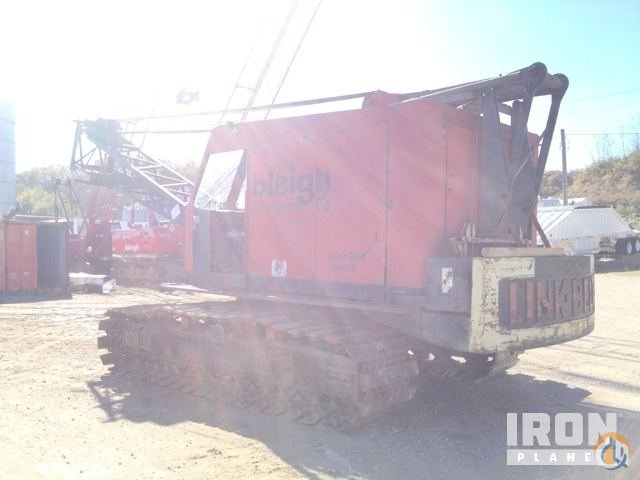 Sold Link-Belt LS108B Lattice-Boom Crawler Crane Crane for  in Palmyra Missouri on CraneNetworkcom