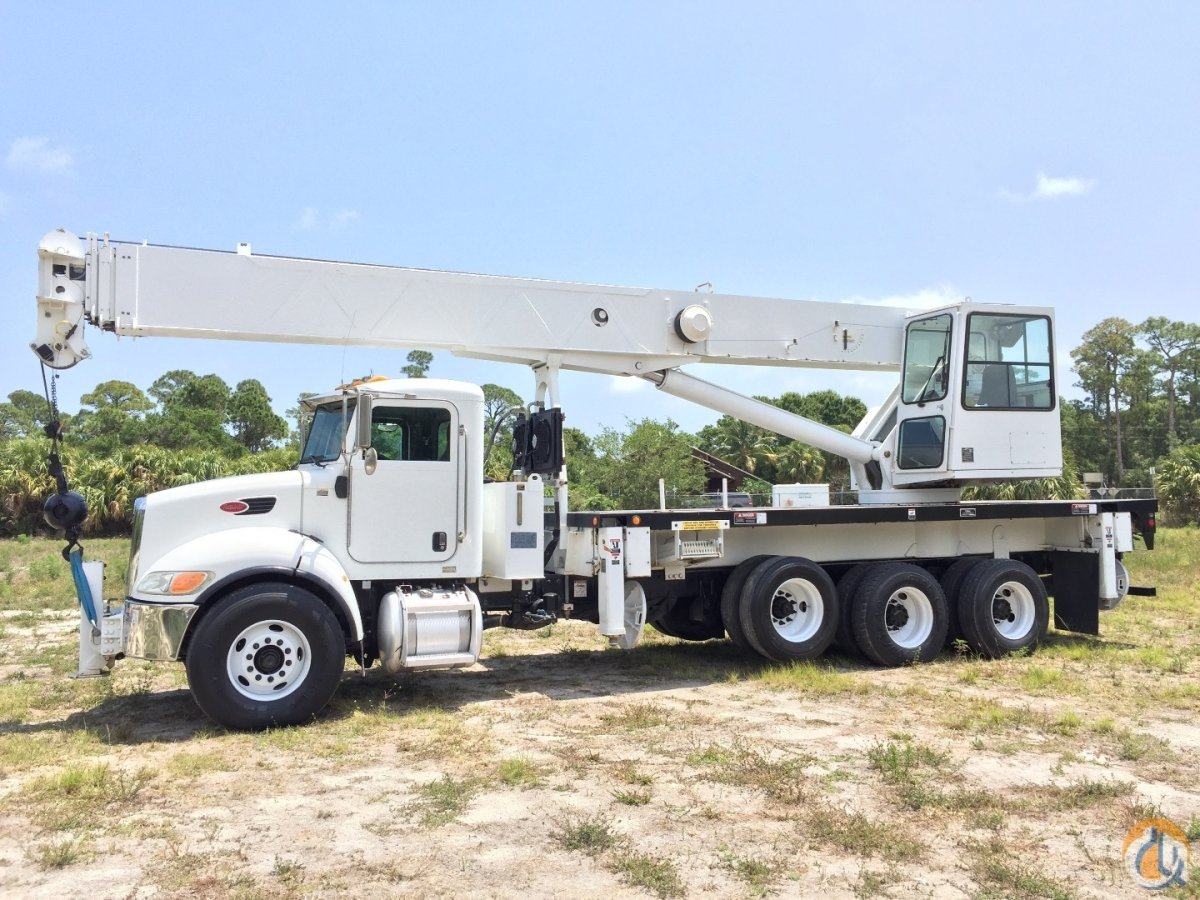 2007 ALTEC 38 ton 38127 PETERBILT 4 axel Crane for Sale in Fort Pierce Florida on CraneNetworkcom