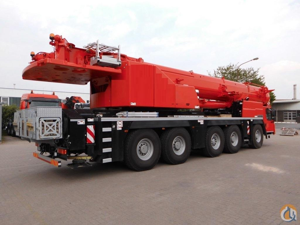 2016 Liebherr LTM 1160-5.1 Crane for Sale on CraneNetwork.com
