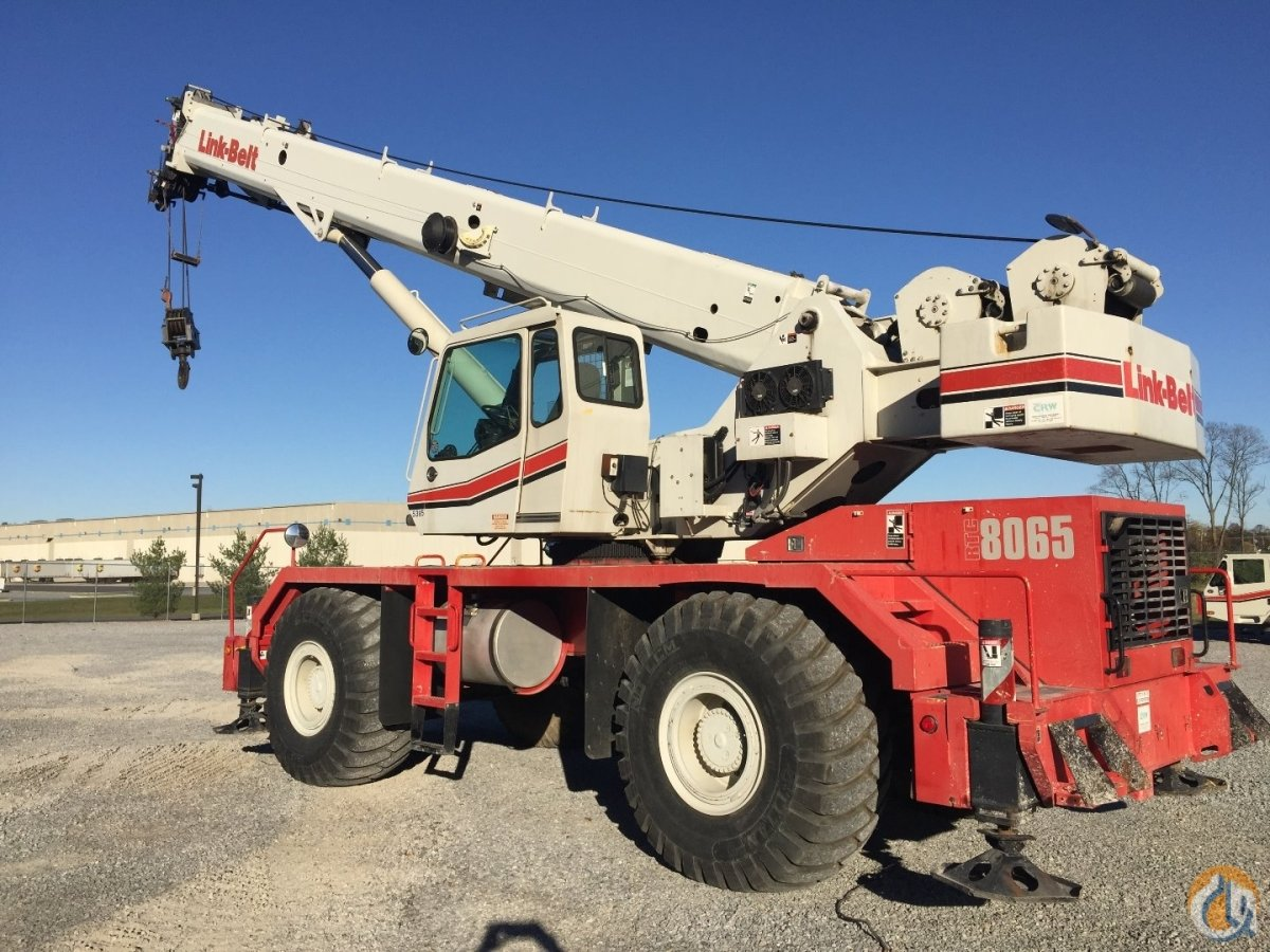 Sold 2009 Link-Belt RTC8065II Crane for  in Carlisle Pennsylvania on CraneNetworkcom