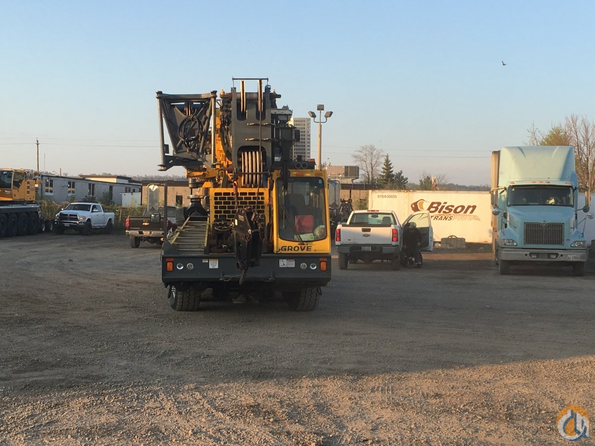2013 Grove TMS 9000E Crane for Sale in Hamilton Ontario on CraneNetworkcom