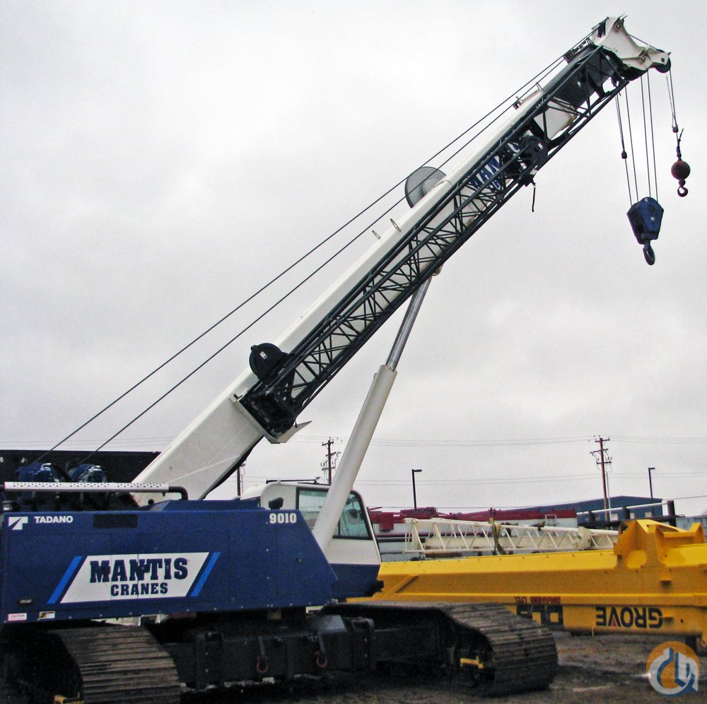 2011 MANTIS 9010 Crane for Sale in Leduc Alberta on CraneNetworkcom