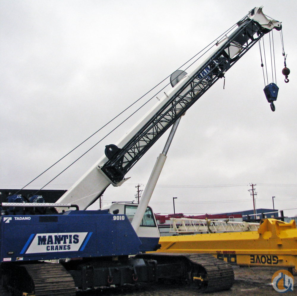 2011 MANTIS 9010 Crane for Sale in Leduc Alberta on CraneNetwork.com