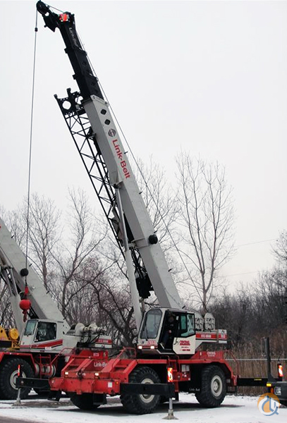Link-Belt RTC-8040 II For Sale Crane for Sale in Hammond Indiana on CraneNetwork.com