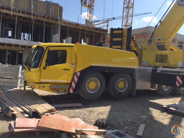 Grove GMK6450 from 2013 with 2592 feet luffing jib Crane for Sale in Giessen North Brabant on CraneNetworkcom