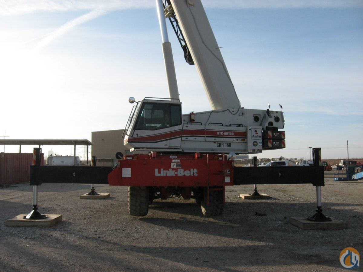 Link-Belt RTC-80100-II Crane for Sale in Waxahachie Texas on CraneNetwork.com